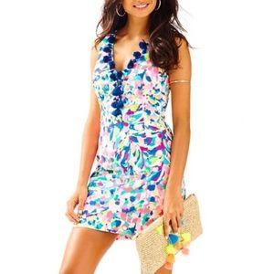 Lilly Pulitzer Cabrey Shift  Dress Size 0 NWT